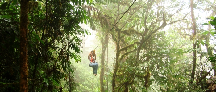take some adventure tours if travelling to costa rica