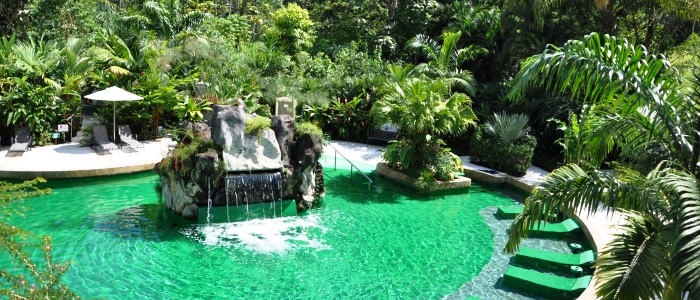 visit the arenal hot springs during your trip to costa rica