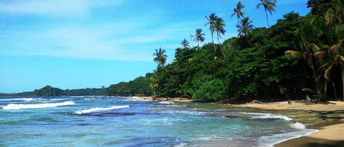 beautiful beaches in the caribbean side of costa rica