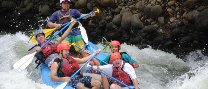 the best class II-III river in all costa rica