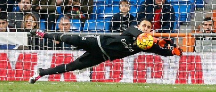 keylor navas who is the goalkeeper for real madrid