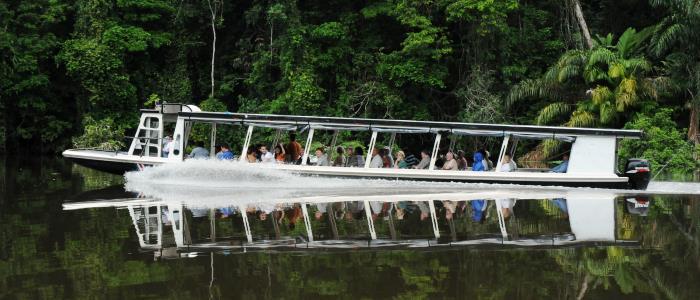 best boat ride in tortuguero