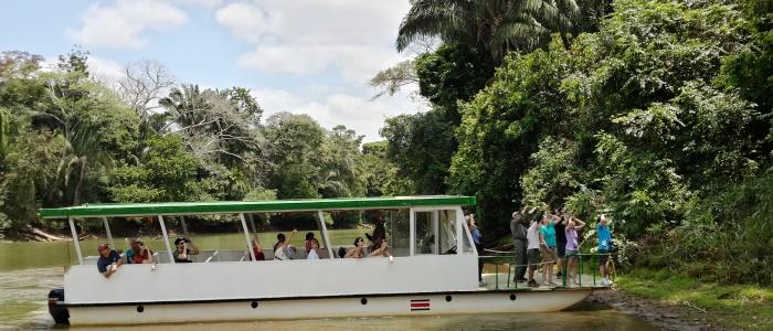 best wildlife boat tour in costa rica