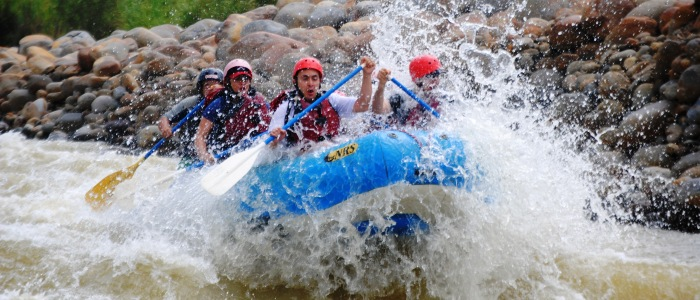 white water rafting tour from san jose or the arenal volcano area
