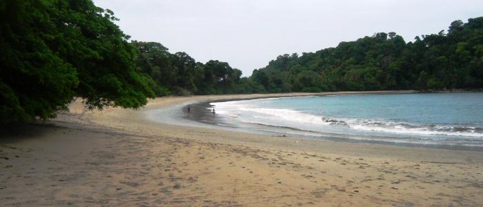 visiting manuel antonio beach in costa rica