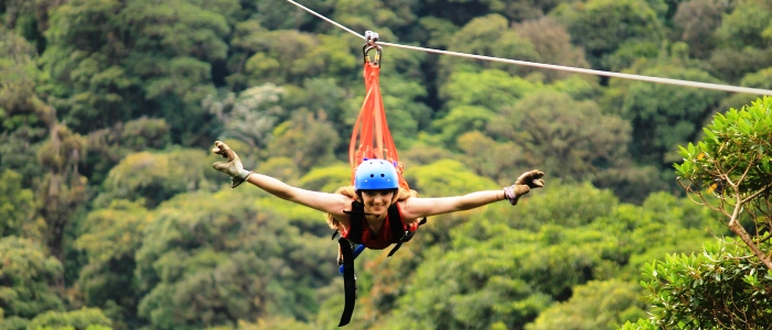 the best zip lining tours in monteverde are the ones at selvatura park extreme canopy and sky adventures park