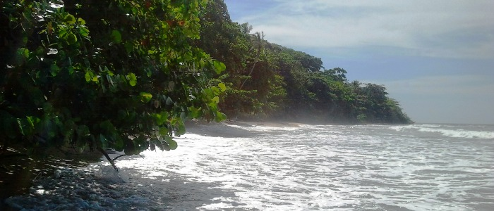 beautiful beaches located in the caribbean side of costa rica