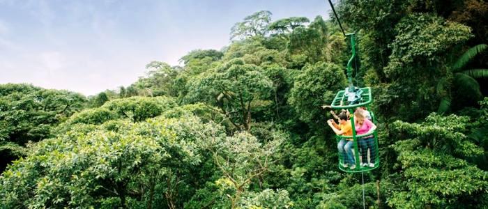best aerial tram tour in costa rica