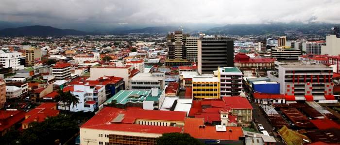 san jose city is the youngest of the main cities located in the central valley of costa rica