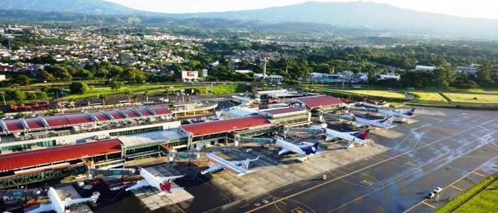 the busiest airport of costa rica