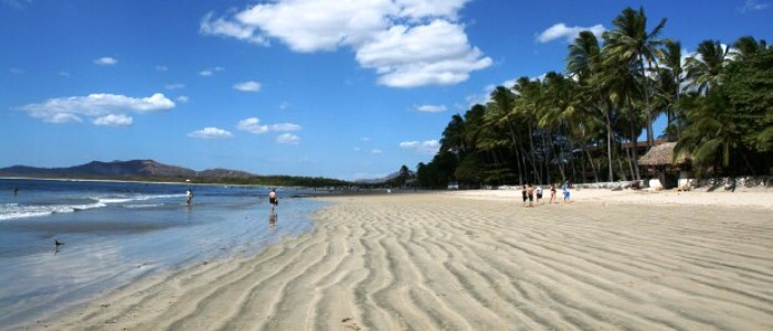 come to tamarindo beach while touring around costa rica