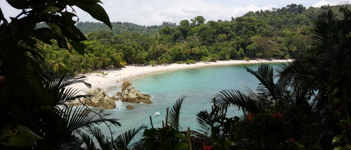 National Park that features a unique contrast between its light color beaches and its lush rainforests full of wildlife