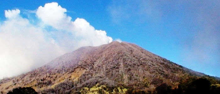 the most active volcano in costa rica