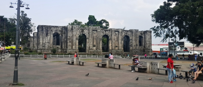 visit cartago ruins and learn about the history of costa rica