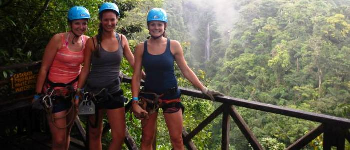 the best zip lining tours in costa rica are located in the arenal volcano area